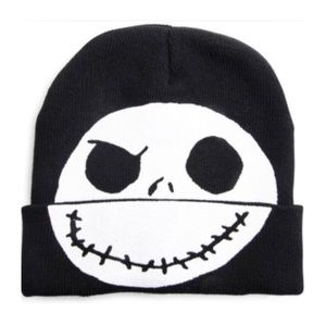 Nightmare Before Christmas Disney Flip Down Beanie